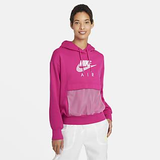 Nike Air Γυναικεία μπλούζα με κουκούλα
