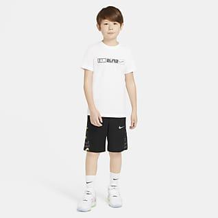 Nike Avalanche Shorts de básquetbol estampados para niño talla grande