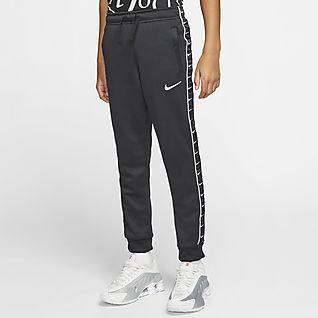 Nike Sportswear Swoosh Joggebukse til store barn