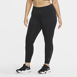 Nike One Icon Clash Leggings (Plus size) - Donna