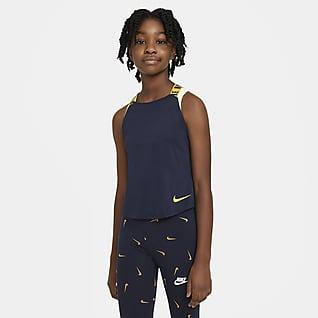 Nike Dri-FIT Träningslinne för tjejer