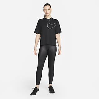 Nike Dri-FIT Lockeres Trainings-T-Shirt für Damen