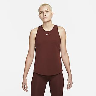 Nike Dri-FIT One Luxe Linne med standardpassform för kvinnor