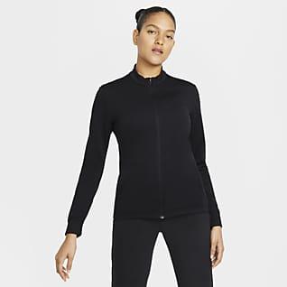Nike Dri-FIT UV Victory Γυναικεία μπλούζα γκολφ με φερμουάρ σε όλο το μήκος