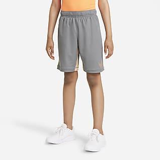 Nike Dri-FIT Treningsshorts med grafikk til store barn (gutt)
