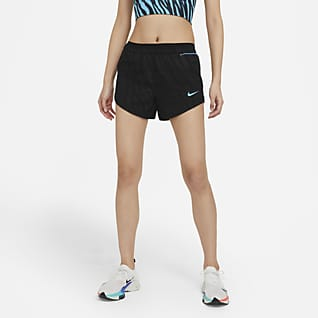 Nike Tempo Luxe Icon Clash กางเกงวิ่งขาสั้นผู้หญิง