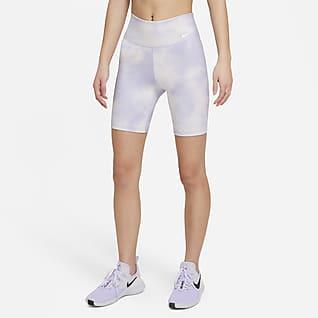 Nike One Icon Clash กางเกงขาสั้น 7 นิ้วผู้หญิงพิมพ์ลาย
