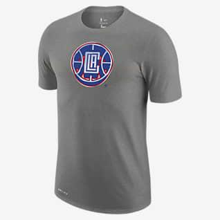LA Clippers Earned Edition Camiseta Logo Nike Dri-FIT de la NBA - Hombre