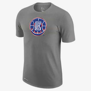 LA Clippers Earned Edition Playera con logotipo de la NBA Nike Dri-FIT para hombre