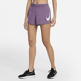 Nike Dri-FIT Swoosh Run Γυναικείο σορτς για τρέξιμο
