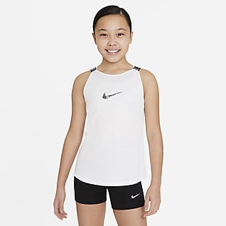 Nike Dri-FIT Elastika Camiseta de tirantes de entrenamiento - Niña