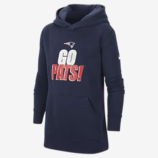 Nike Club Fleece (NFL New England Patriots) Big Kids' (Boys') Hoodie