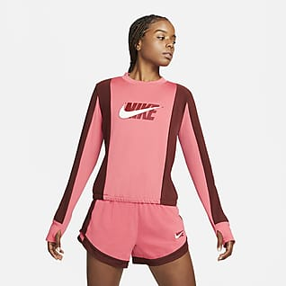 Nike Dri-FIT Icon Clash Mellanlagertröja för kvinnor