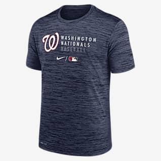 Nike Dri-FIT Velocity Practice (MLB Washington Nationals) Men's T-Shirt