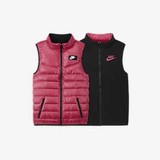 Nike 大童双面穿羽绒马甲