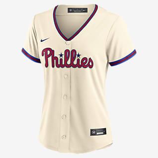 MLB Philadelphia Phillies Jersey de béisbol Replica para mujer