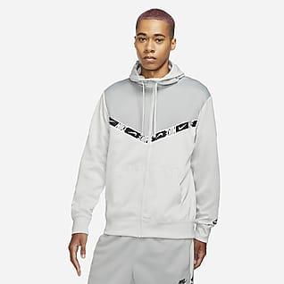 Nike Sportswear Męska bluza z kapturem i zamkiem na całej długości