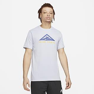 Nike Dri-FIT Kurzärmliges Trail Running-T-Shirt