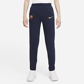 FC Barcelona Fleece Genç Çocuk Futbol Eşofman Altı