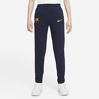F.C. Barcelona Older Kids' Fleece Football Pants