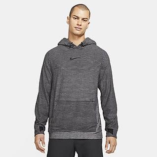 Nike Pro Therma-FIT ADV Sudadera con gorro sin cierre de tejido Fleece para hombre