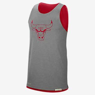Chicago Bulls Standard Issue Men's Nike NBA Reversible Tank