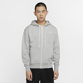 Nike Dri-FIT Standard Issue Sudadera con capucha de básquetbol con cierre completo para hombre