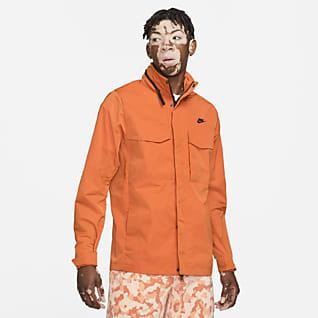 Nike Sportswear Premium Essentials Giacca M65 non foderata con cappuccio - Uomo