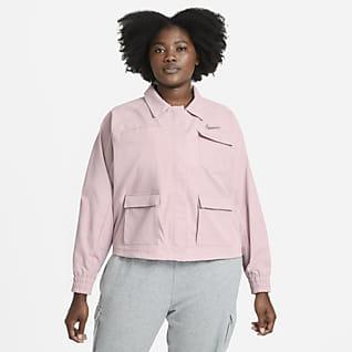 Nike Sportswear Swoosh Jakke til kvinder (plus size)