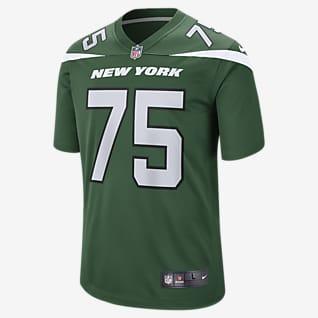 NFL New York Jets (Alijah Vera-Tucker) Men's Game Football Jersey