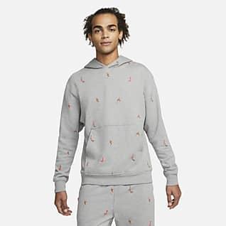 Jordan Essentials Kapucnis polár férfipulóver