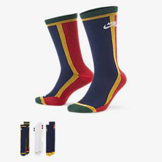 Nike SB Everyday Max Lightweight Středně vysoké skateboardové ponožky (3 páry)