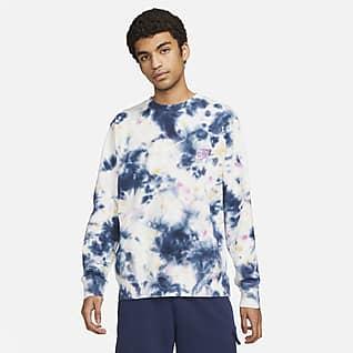 Nike Sportswear Club Sudadera de French Terry tie-dye para hombre