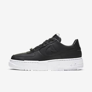 Womens Black Air Force 1 Shoes. Nike.com