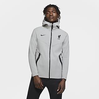 Liverpool FC Tech Pack Sudadera con capucha con cremallera completa - Hombre