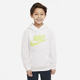 Nike Sportswear Club Fleece Sudadera con capucha sin cierre para niños talla pequeña