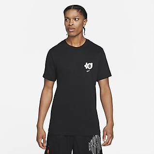 Nike Dri-FIT KD Logo Basket-T-skjorte til herre
