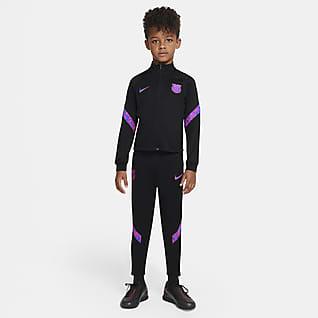 F.C. Barcelona Strike Younger Kids' Nike Dri-FIT Knit Football Tracksuit