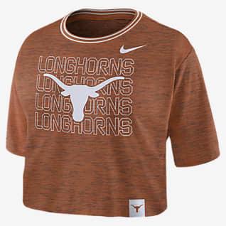 Nike College (Texas) Women's Crop T-Shirt