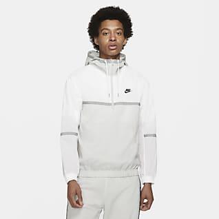 Nike Sportswear Męska kurtka z tkaniny z kapturem i bez podszewki