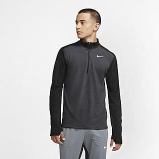 Nike Dri-FIT Camiseta de running de medio cierre para hombre