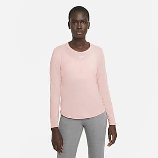 Nike Dri-FIT One Luxe Dámské tričko standardního střihu sdlouhým rukávem