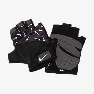 Nike Gym Dámské tréninkové rukavice s potiskem