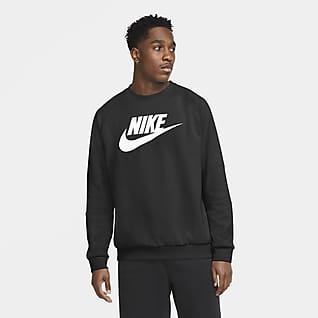 Nike Sportswear Maglia a girocollo in fleece - Uomo