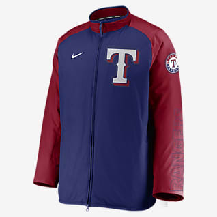 Nike Dugout (MLB Texas Rangers) Men's Full-Zip Jacket