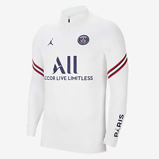 Paris Saint-Germain Strike Domicile Haut d'entraînement de football pour Homme