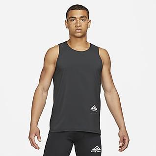Nike Dri-FIT Rise 365 Haut de trail sans manches pour Homme