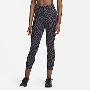 Nike One Icon Clash 7/8-Leggings mit Print für Damen
