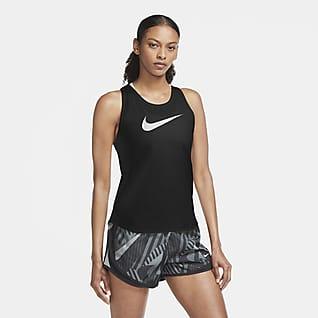 Nike Swoosh Run Samarreta de tirants de running - Dona