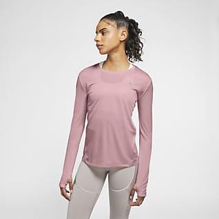Nike Miler 女款跑步上衣